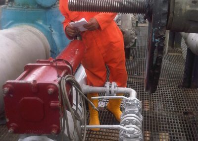 Instrumentation Works at Ogbainbiri