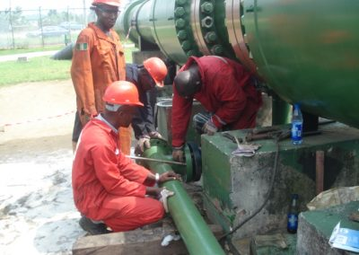 SPDC Nkpoku MF Upgrade