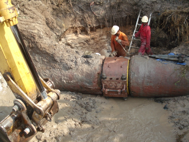 SPDC Ibaa 36 in Pipeline Leak Repair