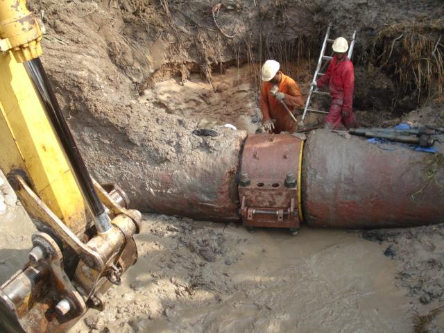 SPDC Ibaa 36 in Pipeline Leak Repair